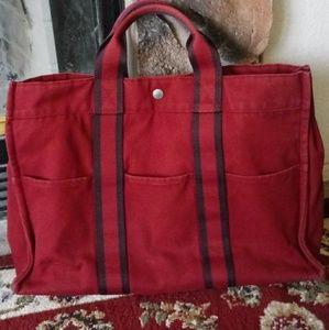 100% Authentic Hermes Fourre tout handbag Preowned
